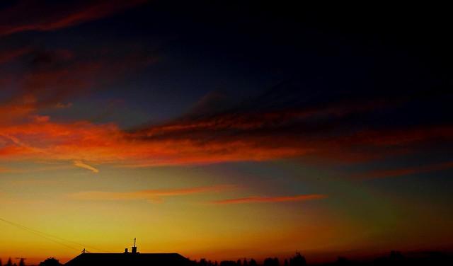 Tonight's Sunset a few minuets later.