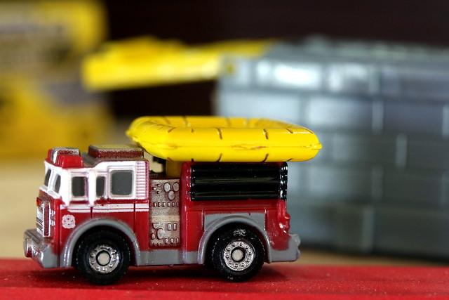 Tiny Tonka Fire Engine - Bijou Planks 289/365