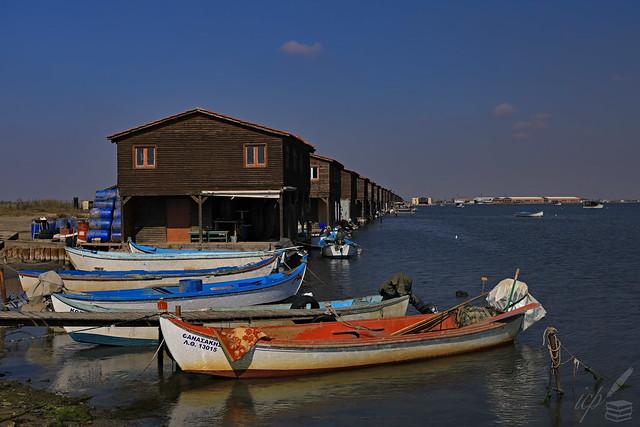 Fishermen's Village In Focus