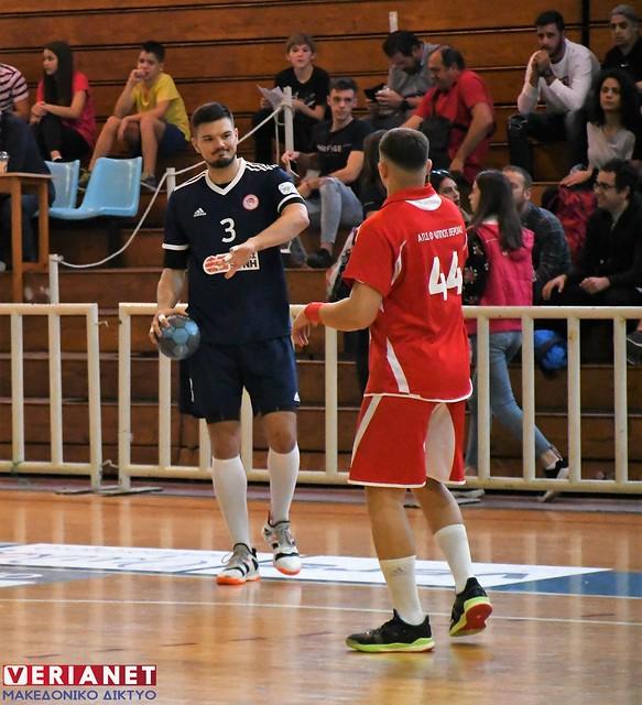 Handball Premier: Φίλιππος Βέροιας - Ολυμπιακός ΣΦΠ 20-32 16/10/2019