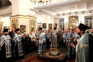 13.10.2019 | Всенощное бдение в Покровском соборе
