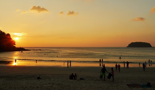 Sunset, Kata Beach Community Park