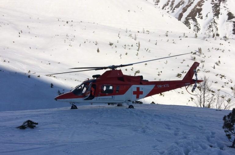 Jak mě v Tatrách zachraňoval vrtulník