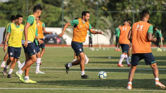 Treino do Fluminense - 16/10/2019