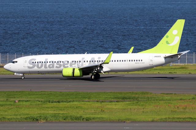 JA806X  -  Boeing 86N (WL)  -  Solaseed Air  -  HND/RJTT 9/10/19