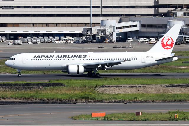 JA653J  -  Boeing 767-346ER  -  Japan Airlines  -  HND/ RJTT 9/10/19