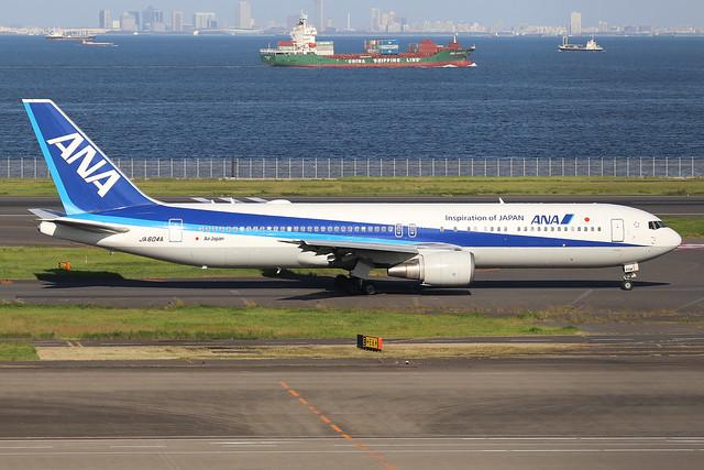 JA604A  -  Boeing 767-381ER  -  All Nippon Airways  -  HND/RJTT 9/10/19