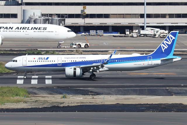JA132A  -  Airbus A321-272N  -  All Nippon Airways  -  HND/RJTT 9/10/19