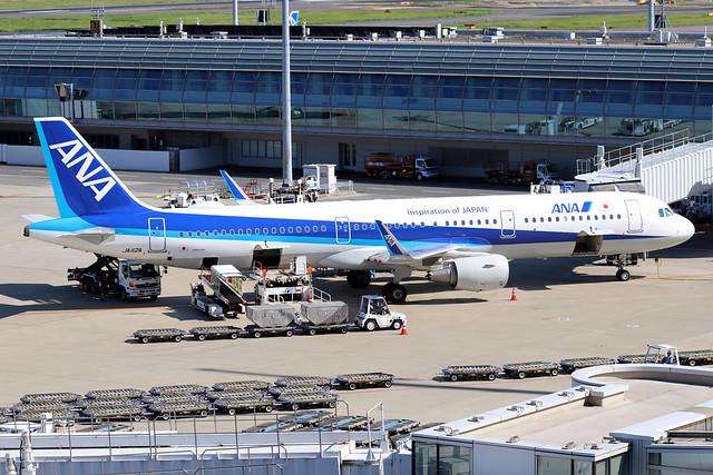 JA112A  -  Airbus A321-272N  -  All Nippon Airways  -  HND/RJTT 9/10/19