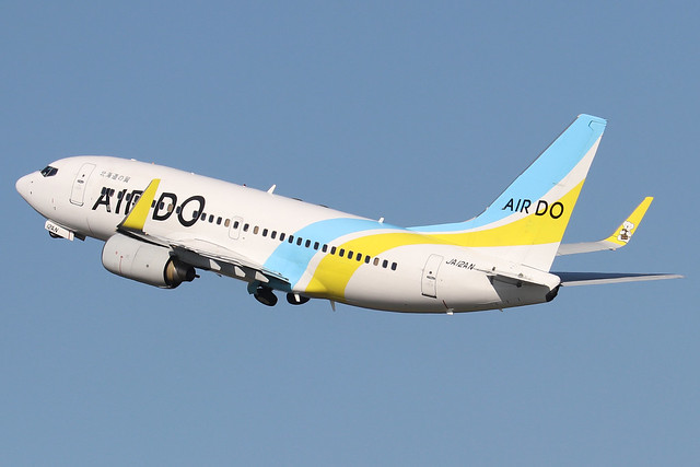JA12AN  -  Boeing 737-781 (WL)  -  Air Do  -  HND/RJTT 9/10/19