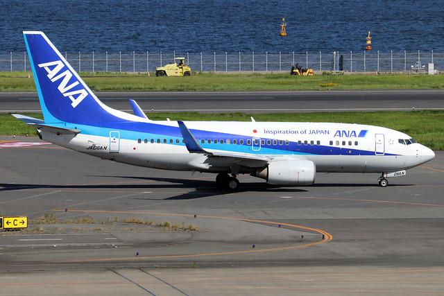 JA06AN  -  Boeing 737-781 (WL)  -  All Nippon Airways  -  HND/RJTT 9/10/19