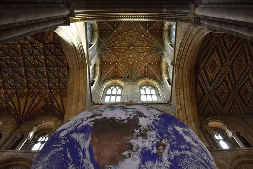 Peterborough Cathedral ceiling 1