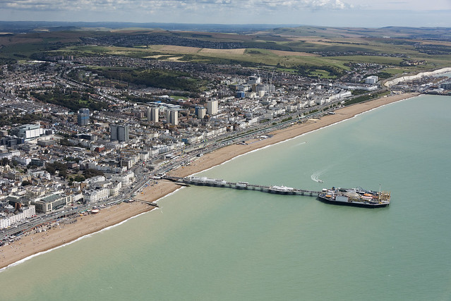 Brighton aerial image