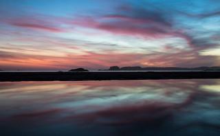 Sunset on Chesterman Beach, Tofino