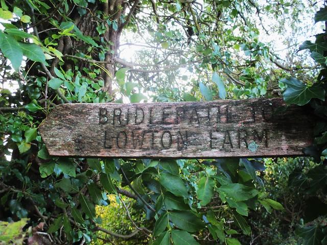 Bridford Wood Fingerpost