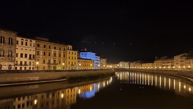 Notte a Pisa