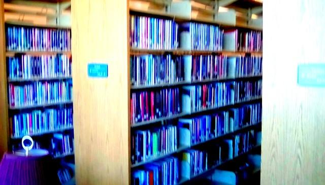 Library stacks! Menominee Michigan
