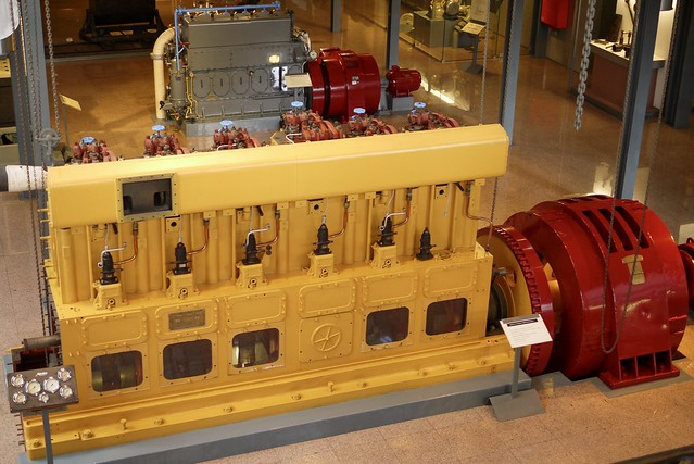 Doxford diesel-generator, Funchal, Madeira