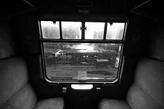 Fiftie's train carriage..