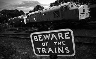 train warning..