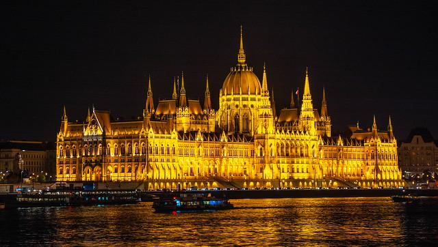 Hungary, Budapest - Parliament