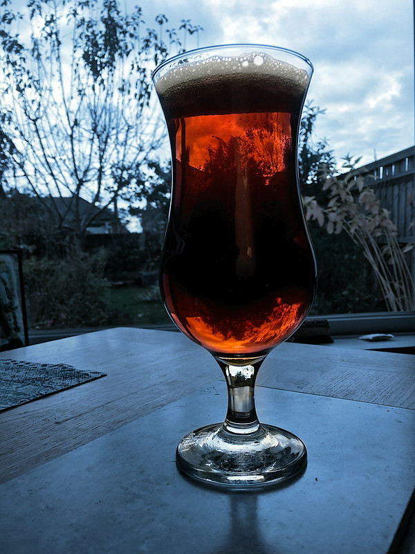 Oxxxford Tawny Beer
