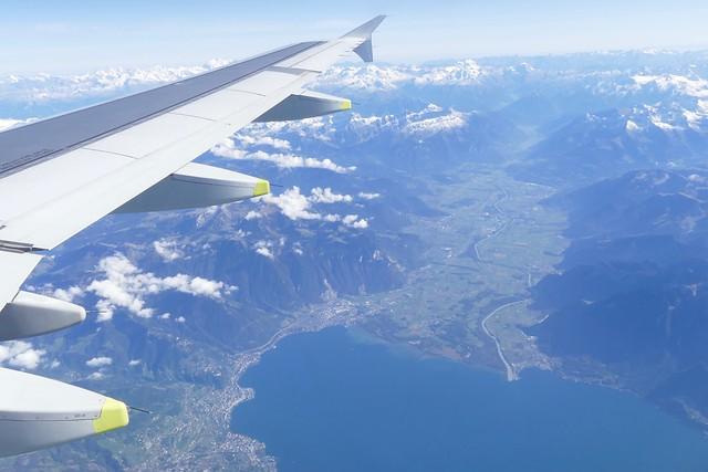 Montreux Lake Geneva Valais Switzerland