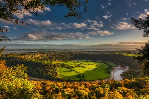 wye wyevalley riverwye riversevern severn gloucestershire england wales autumn fall fallcolours autumncolours