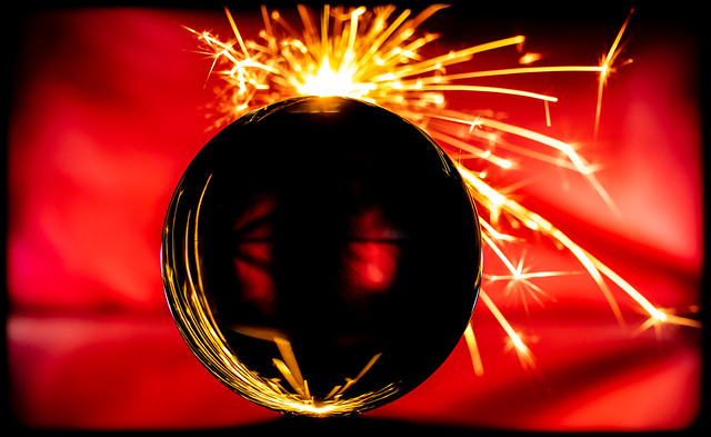 Crystal Ball and the Sparkler