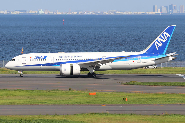JA811A  -  Boeing 787-8 Dreamliner  -  All Nippon Airways  -  HND/RJTT 9/10/19