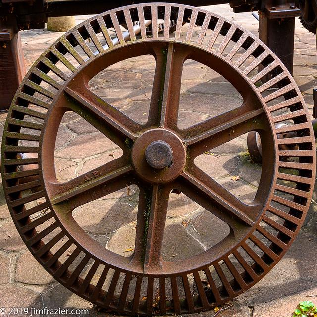 Rusty Wheel I