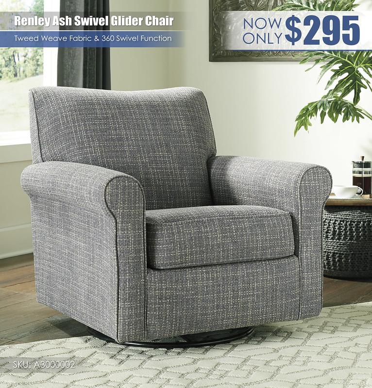Renley Ash Swivel Glider Chair_A3000002