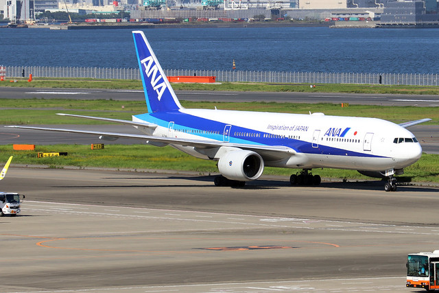 JA714A  -  Boeing 777-281  -  All Nippon Airlines  -  HND/RJTT 9/10/19