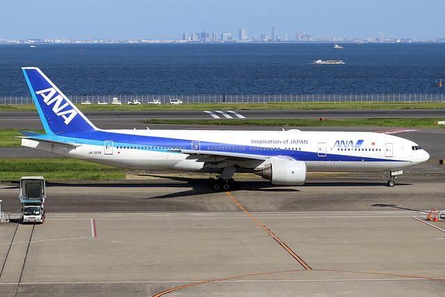JA707A  -  Boeing 777-281ER  -  All Nippon Airways  -  HND/RJTT 9/10/19