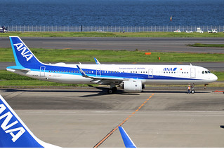 JA140A  -  Airbus A321-272N  -  All Nippon Airways  -  HND/RJTT 9/10/19 | by Martin Stovey