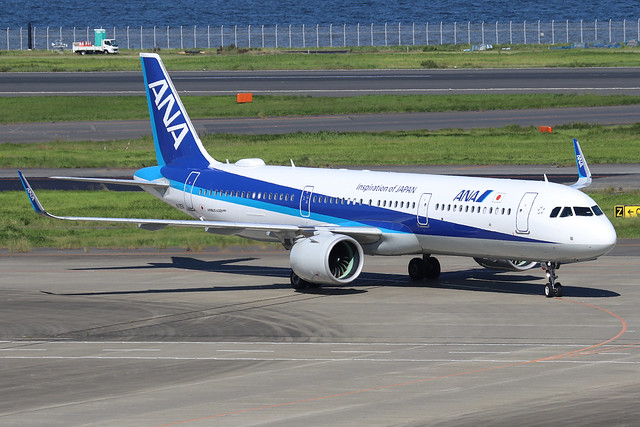 JA135A  -  Airbus A321-272N  -  All Nippon Airways  -  HND/RJTT 9/10/19