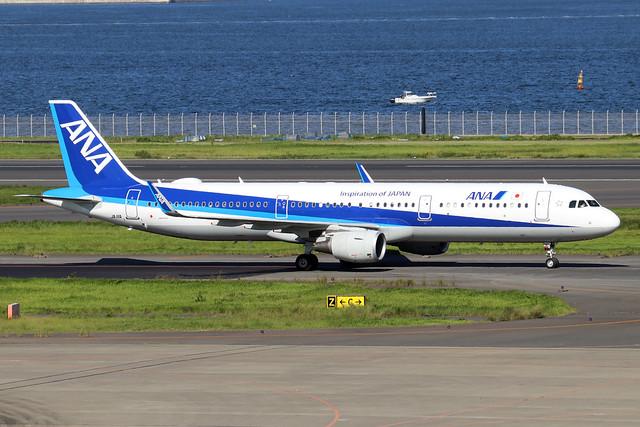JA111A  -  Airbus A321-272N  -  All Nippon Airways  -  HND/RJTT 9/10/19