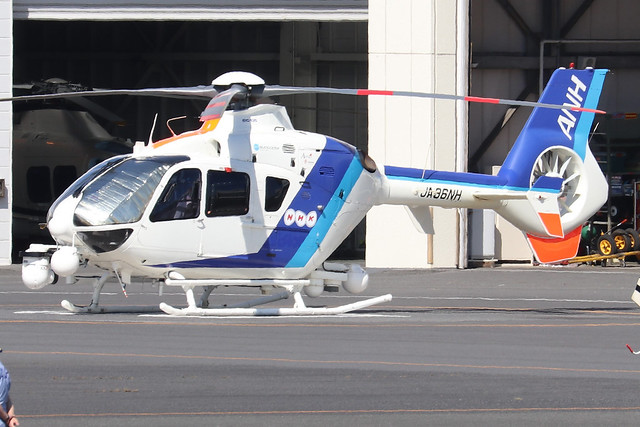 JA36NH  -  Eurocopter EC135T2  -  All Nippon Helicopters  -  RJTI 9/10/19