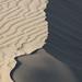 Sand Dune Crest And Opposing Slip Slope