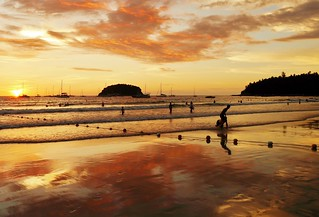 Sunset (Kata Beach,) Phuket District