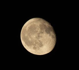 Waning Gibbous Moon 16 Oct 2019