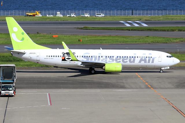 JA812X  -  Boeing 86N (WL)  -  Solaseed Air  -  HND/RJTT 9/10/19
