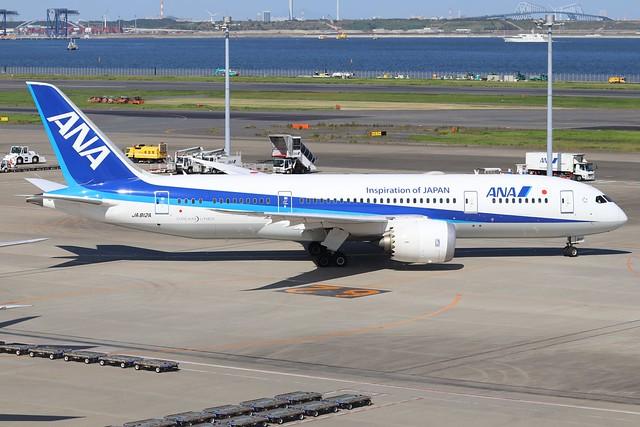 JA812A  -  Boeing 787-8 Dreamliner  -  All Nippon Airways  -  HND/RJTT 9/10/19