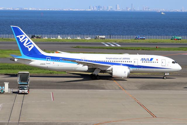 JA810A  -  Boeing 787-8 Dreamliner  -  All Nippon Airways  -  HND/RJTT 9/10/19