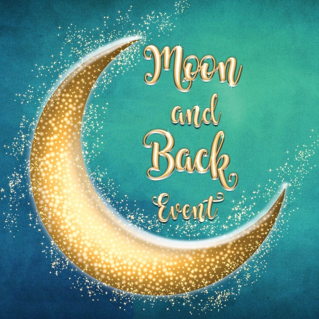 Moon and back Event Logo