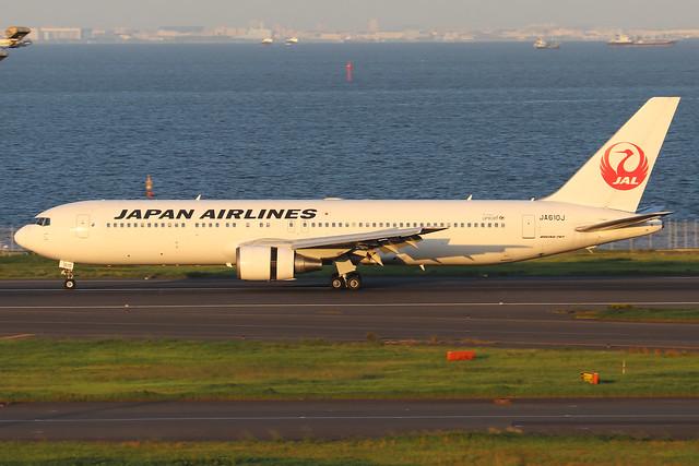 JA610J  -  Boeing 767-346ER  -  Japan Airlines  -  HND/ RJTT 9/10/19