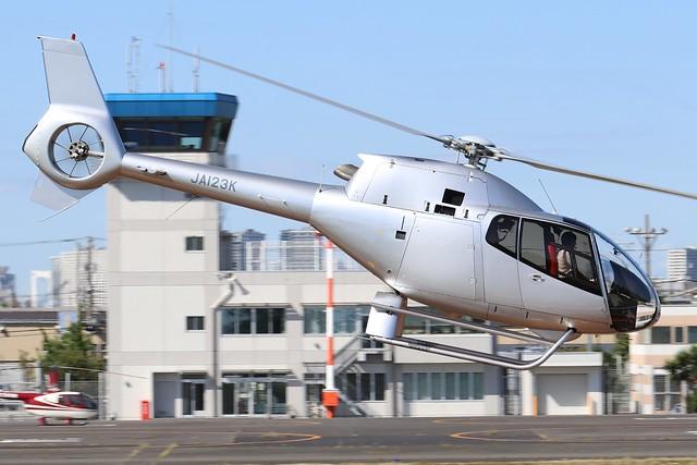 JA123K  -  Eurocopter EC120B Colibri  -  Shimizu Brothers  -  RJTI 9/10/19