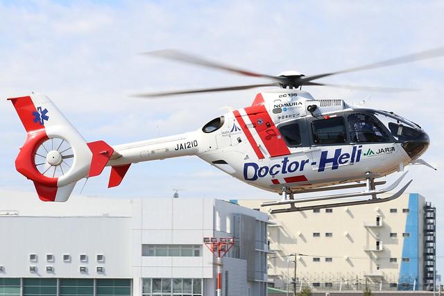 JA121D  -  Eurocopter EC135  -  Doctor Heli  -  RJTI 9/10/19