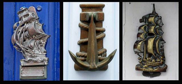Door Knockers - Nautical (02, 04 & 05) - These are from London