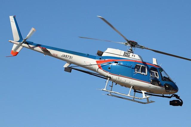 JA9731  -  Aerospatiale AS350B1 Ecureuil  -  Akagi Helicopter  -  RJTI 9/10/19